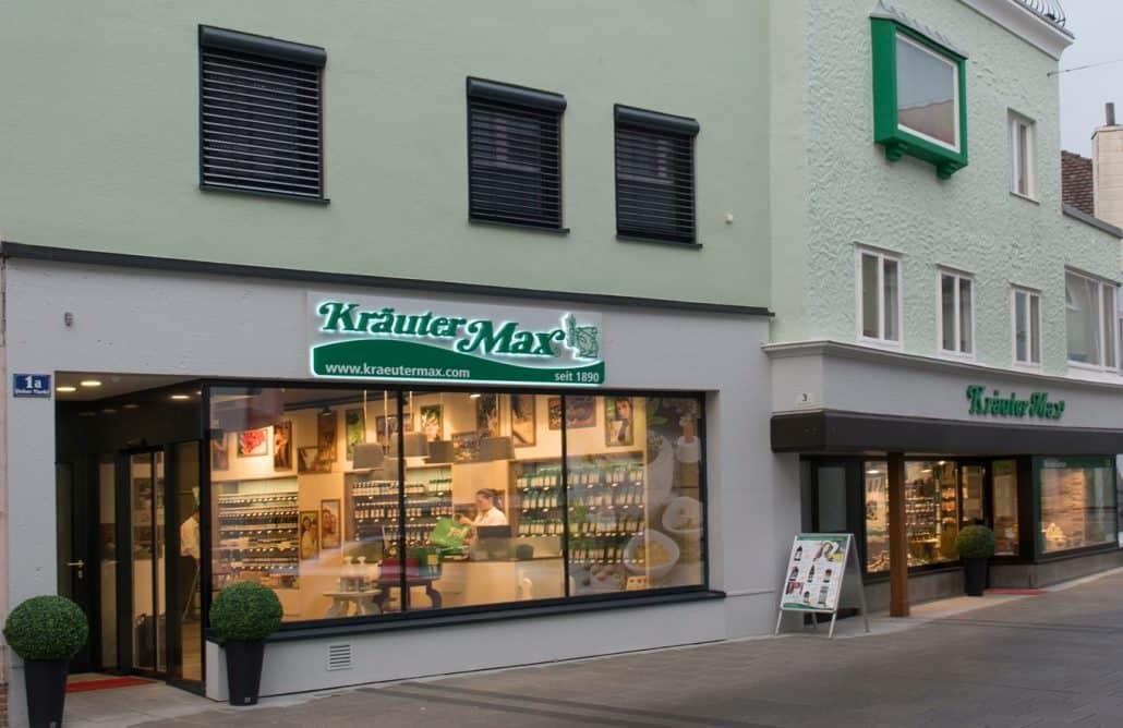 Kräutermax Geschäft Ried Hoher Markt