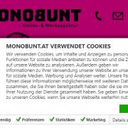 CookieBot MONOBUNT.at