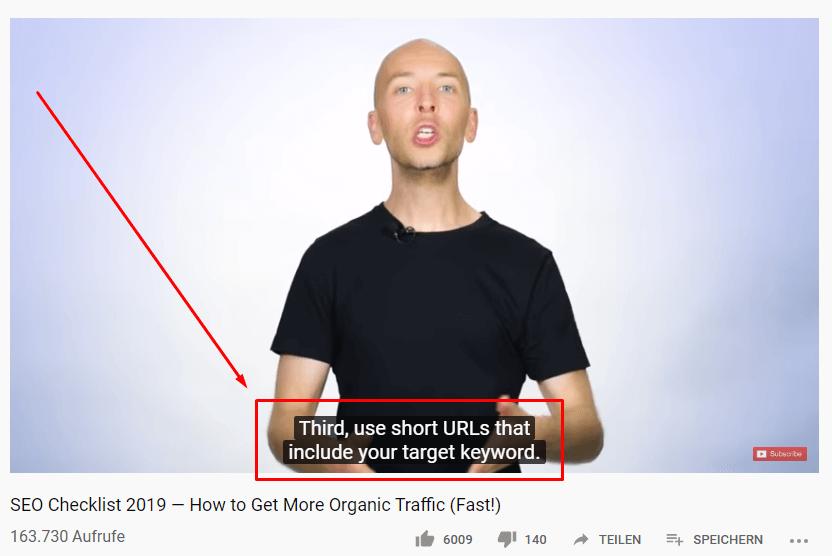YouTube Video Transkript